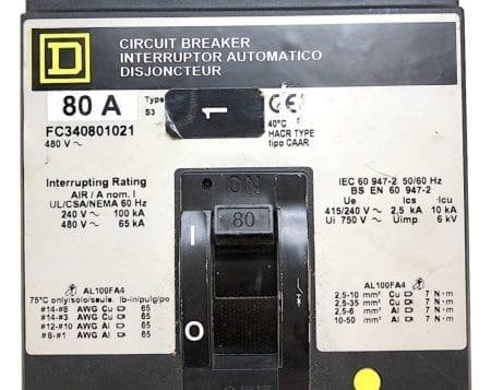 Square D FC340801021-GL