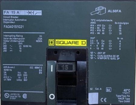Square D FA340151021-CL-ST