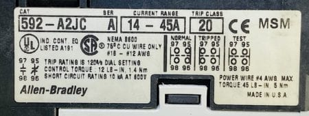Allen Bradley 500F-COD930
