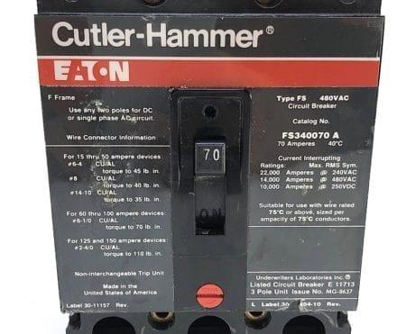 Cutler Hammer FS340070A