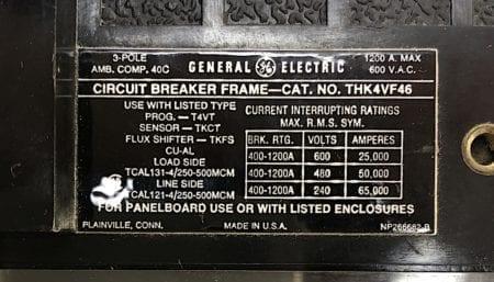 General Electric THK4VF46-1000