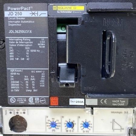 Square D JDL36250U31X-ST