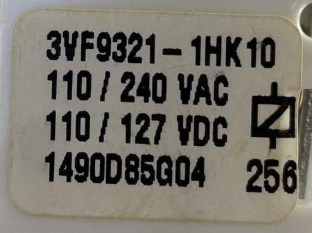 Siemens 3VF9321-1HK10