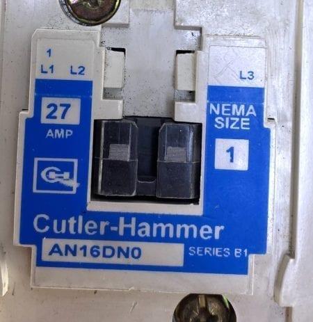 Cutler Hammer AN16DN0-120