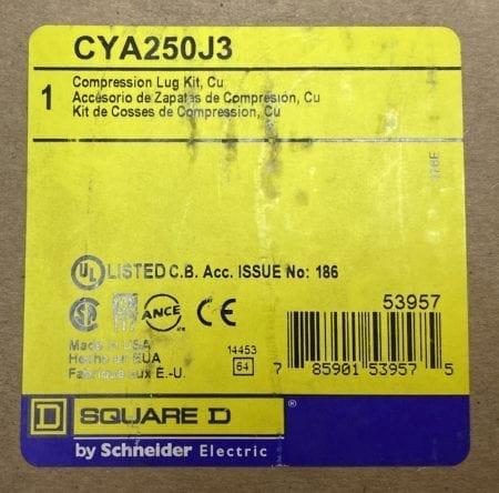 Square D CYA250J3-NIB