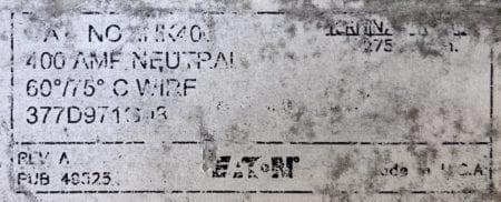 Eaton INK400-NOB