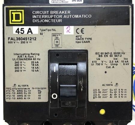 Square D FAL360451212-GL