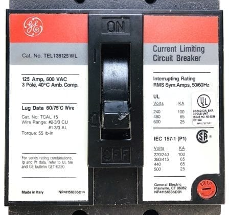 General Electric TEL136125WL
