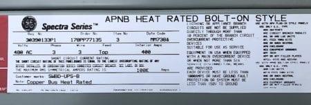 General Electric APB4065D