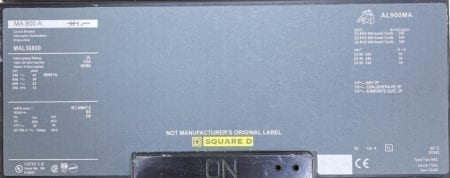 Square D MAL36800-NML-CL