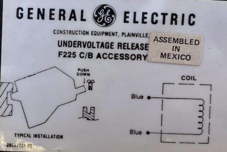 General Electric TFKUVA8