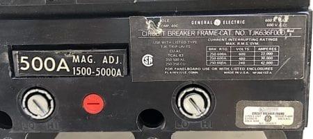 General Electric TJK636F000-500
