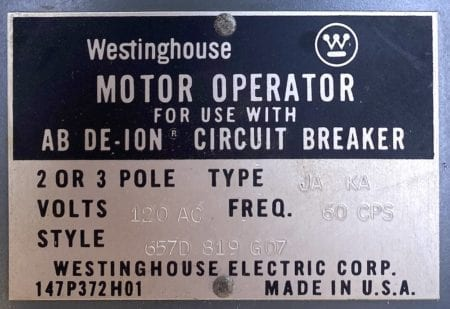 Westinghouse 147P372H01