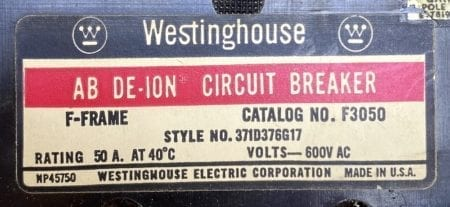 Westinghouse F3050