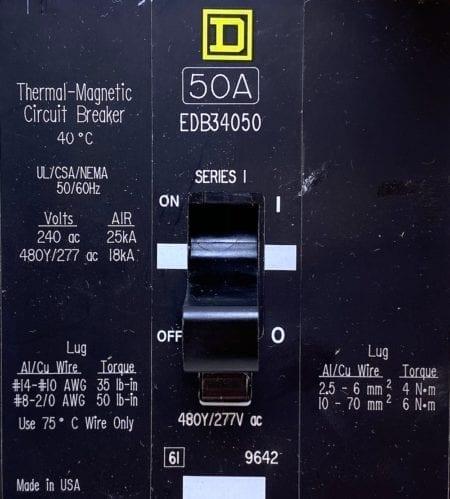 Square D EDB34050