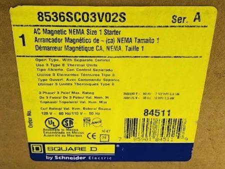 Square D 8536SCO3V02S-120