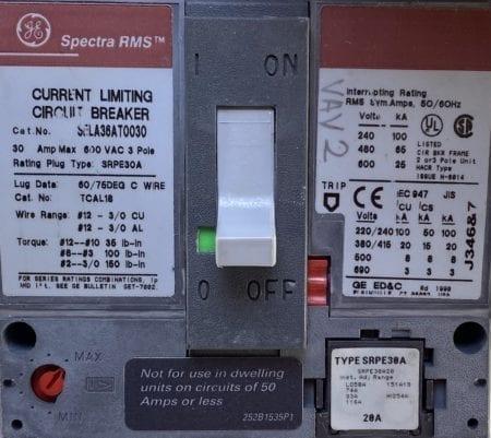General Electric SELA36AT0030-20