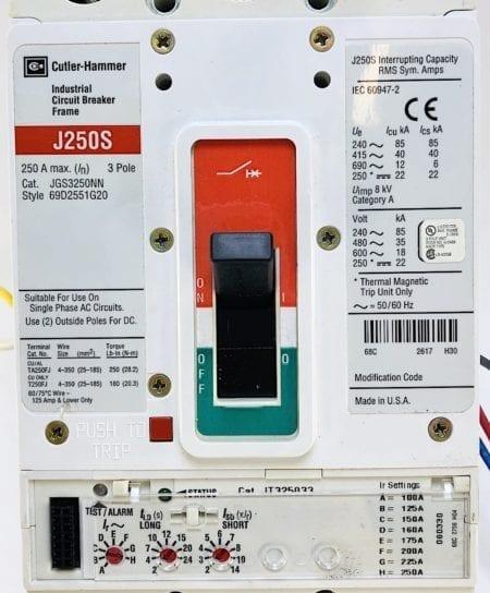 Cutler Hammer JGS3250NN-AUX-ST