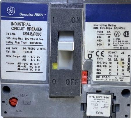 General Electric SEDA36AT0100-90-UV
