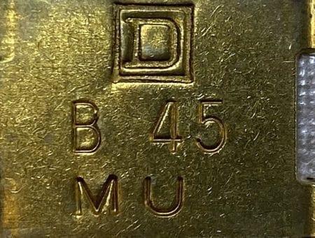 Square D B45-3