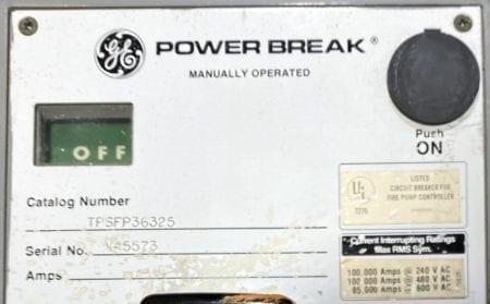 General Electric TPSFP36325