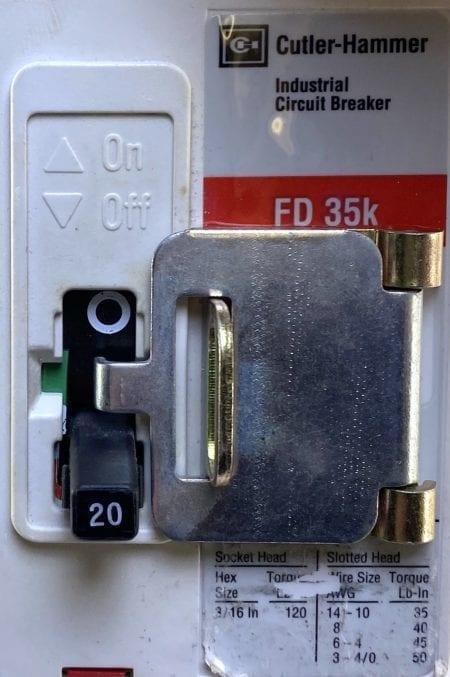 Cutler Hammer FD2020-RL