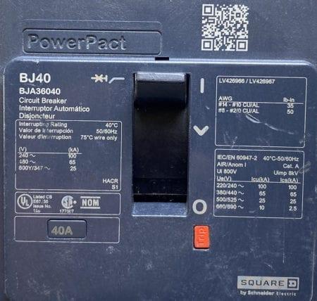 Square D BJA36040