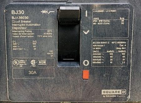 Square D BJA36030