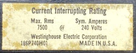 Westinghouse EA3100