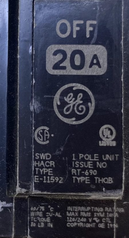 General Electric THQB1120ST