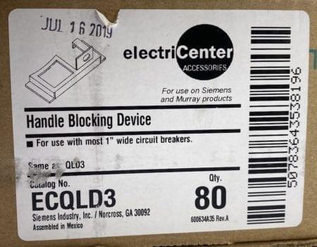 electriCenter Siemens ECQLD3-NIB