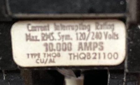 General Electric THQB21100