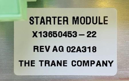 Trane Company X13650453-22