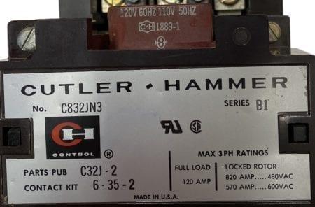 Cutler Hammer C832JN3-120