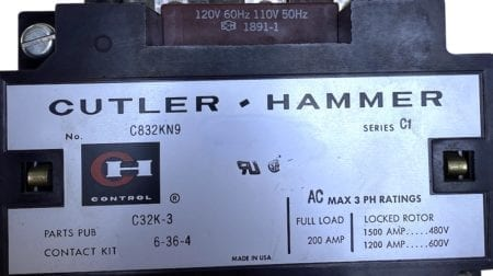 Cutler Hammer C832KN9