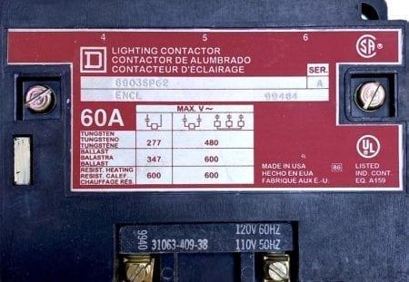Square D 8903SPG2-120