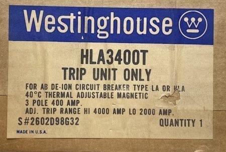 Westinghouse HLA3400T