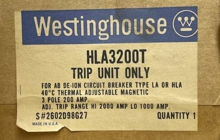 Westinghouse HLA3200T