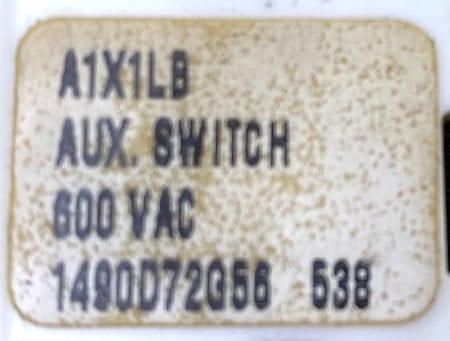 Eaton Cutler Hammer A1X1LB