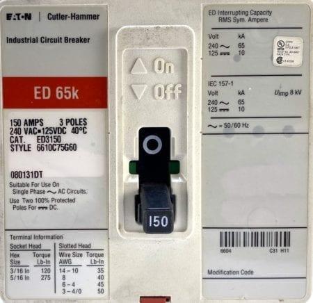Eaton Cutler Hammer ED3150-RL