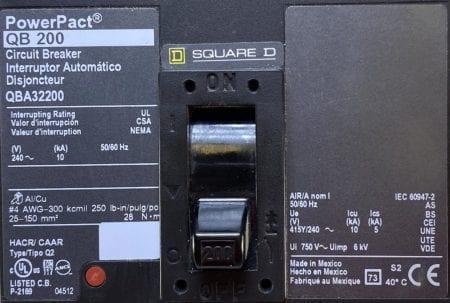 Square D QBA32200