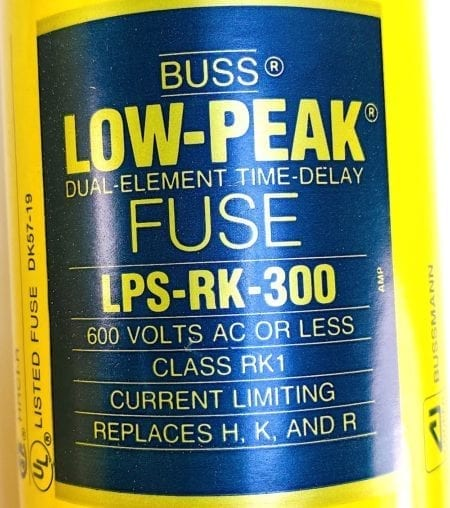 Cooper Bussmann LPS-RK-300-NIB