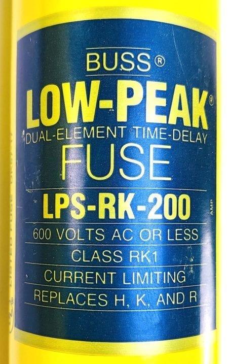 Cooper Bussmann LPS-RK-200-NIB