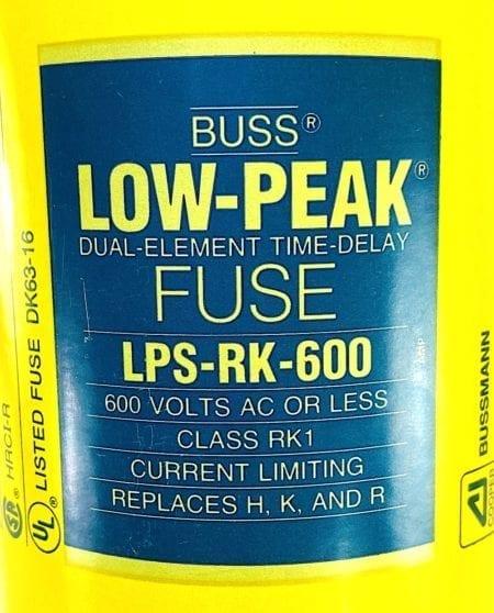 Cooper Bussmann LPS-RK-600-Single