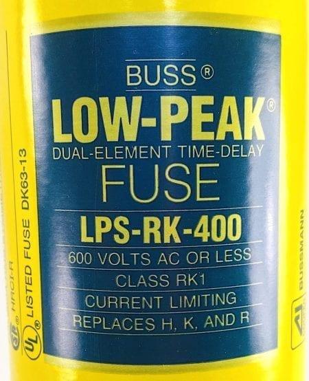 Cooper Bussmann LPS-RK-400-Single