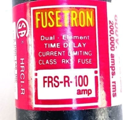 Fusetron FRS-R 150-Single