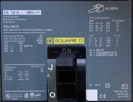 Square D FAL34015-NML-CL