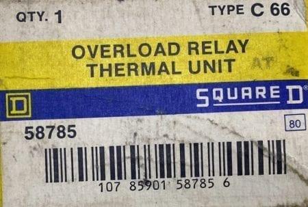 Square D C66-3