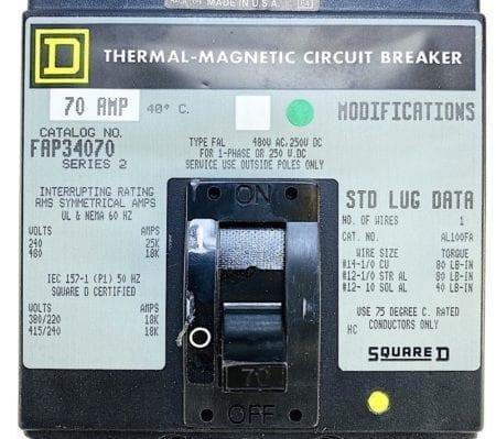Square D FAP34070-GL