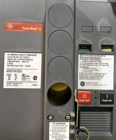 General Electric SHF16B216-1600